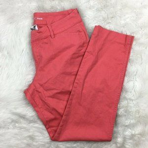 Old Navy Women's Bright Coral Pants Coral Pink